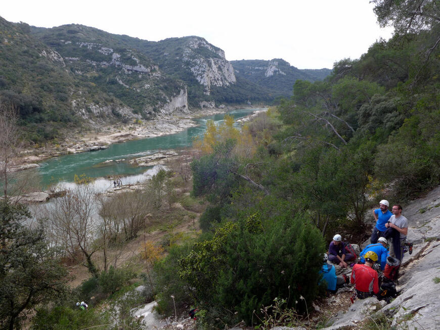 Collias et les gorges du Gardon